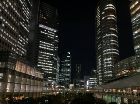 Night View Of Shinagawa #4