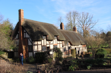 Anne Hathaway's Cottage & Gardens(妻、アン・ハサウェイの家)